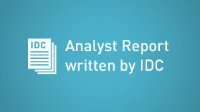 Analyst Report written by IDC