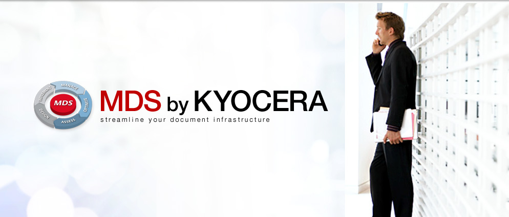 MDS by KYOCERA streamline your document infrastructure