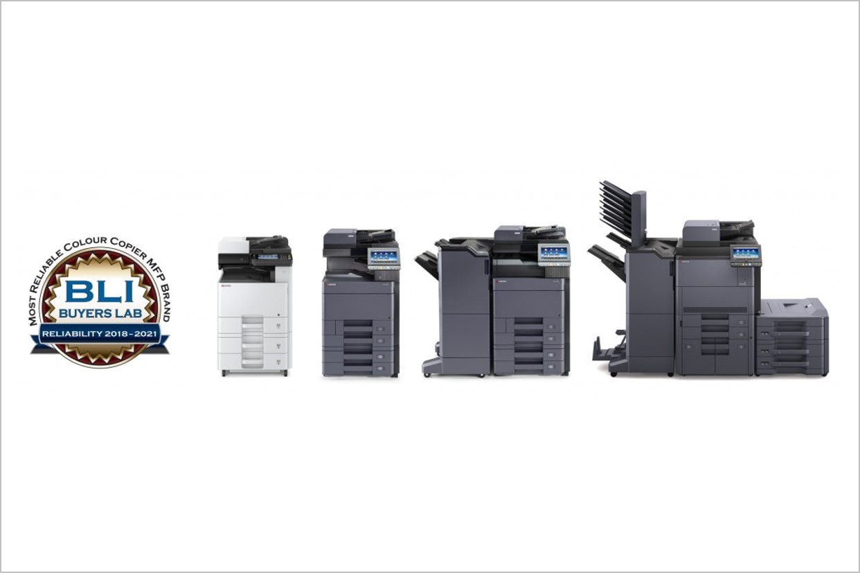 KYOCERA Most Reliable Color Copier MFP Brand